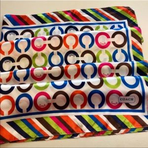 Colorful Coach Scarf❤️